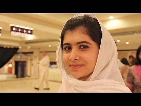 Pakistani Training Activist Malala Yousafzai Gets Youngest Winner of Nobel Peace Prize