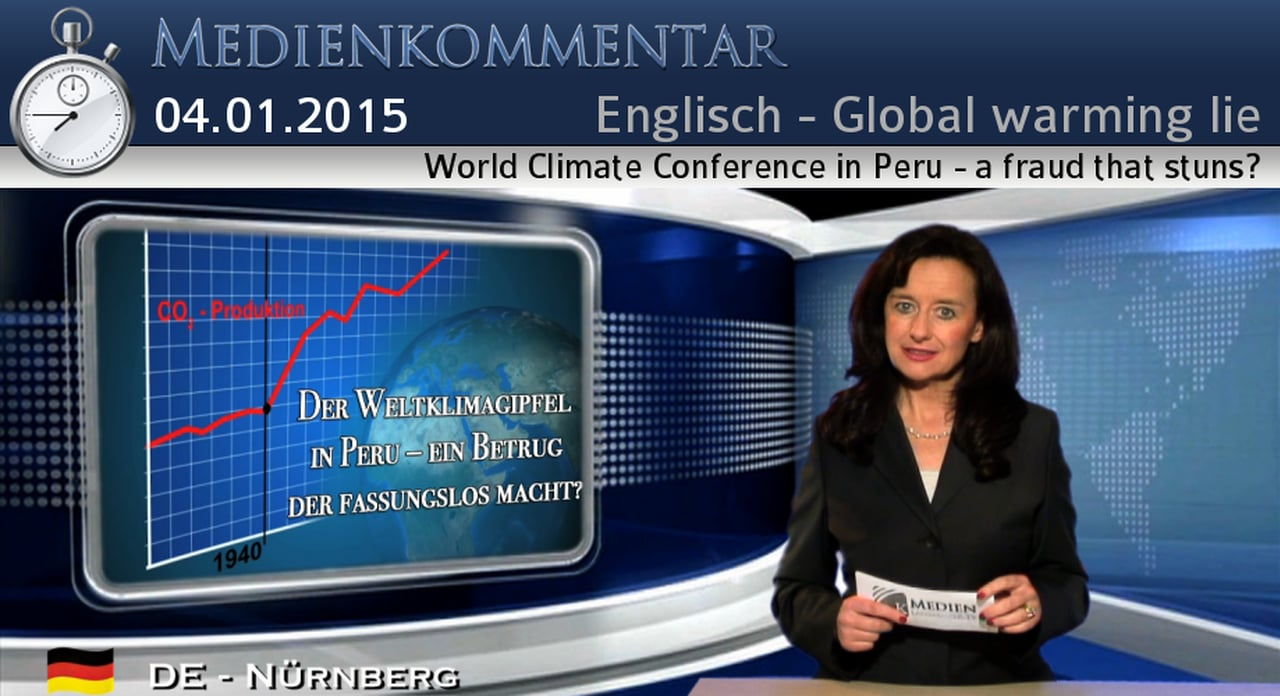 World Local climate Convention in Peru – a fraud that stuns? | 04. Januar 2015 | www.kla.tv set