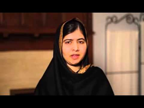Malala Yousafzai Distinctive Message on Television Channel – Nobel Prize laureate 2014