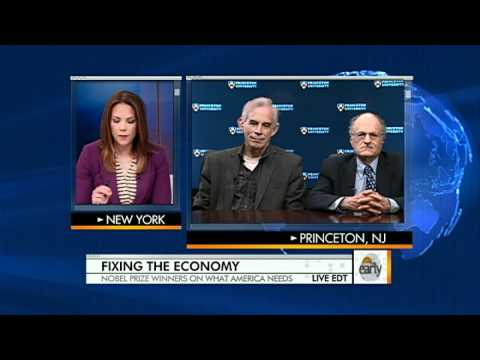 The Early Present – Nobel Prize winners: How to take care of the economic system