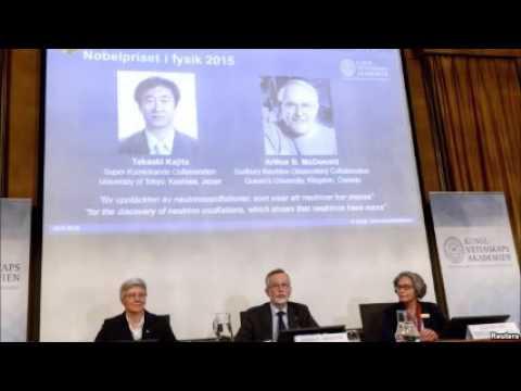 Neutrino Scientists Acquire Nobel Prize in Physics