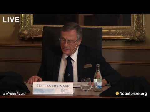 Nobel Prize Announcement in Physics 2013