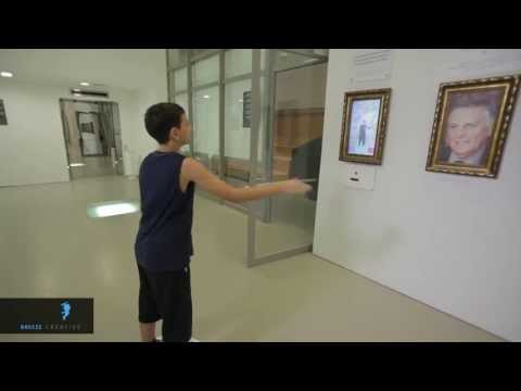 Breeze Artistic – Nobel prize winners kinect software
