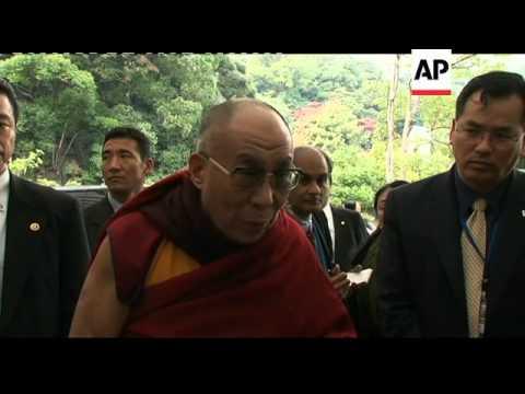 Dalai Lama speaks in advance of Nobel peace prize winners' conference