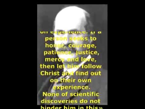 Wonderful persons, Nobel prize winners about God Element 11 WILLIAM HENRY BRAGG