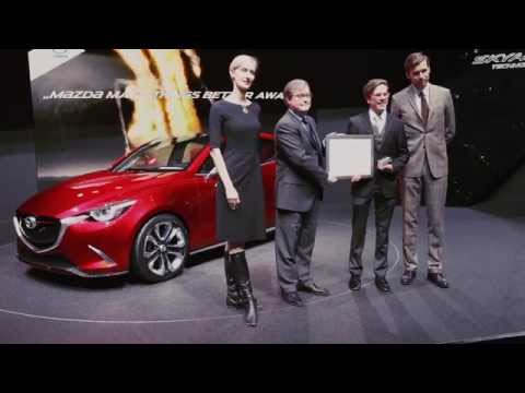 Mazda at the 2014 Entire world Summit of Nobel Peace Laureates