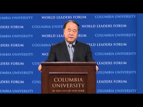 Entire world Leaders Forum: Mo Yan, Author and Nobel Laureate