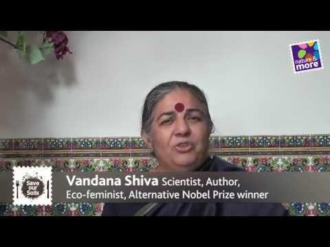 Celebrating Soil! with Dr. Vandana Shiva, author, activist, Alternative Nobel Prize winner