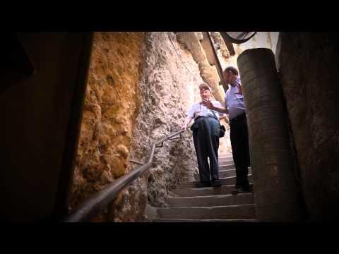 Nobel Prize Laureate, Prof. Kenneth Arrow, Visits the Metropolis of David, Historical Jerusalem