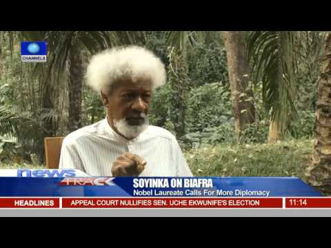 Contact For Biafra: Nobel Laureate Calls For A lot more Diplomacy 08/12/fifteen