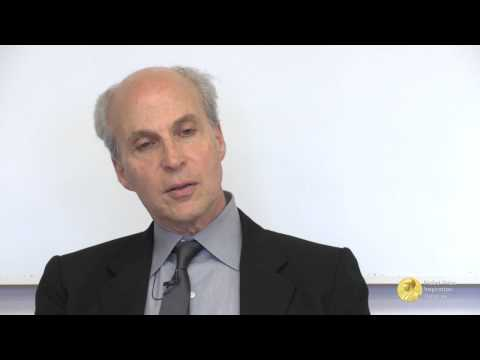 """I will struggle with every single phrase"" – Nobel Laureate Roger Kornberg on educational producing"
