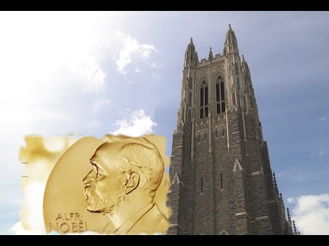 Duke's Initially Nobel Winner Features Tips to Newest Receiver
