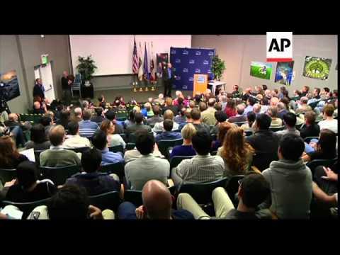 Nobel prize winner Saul Perlmutter celebrates physics win