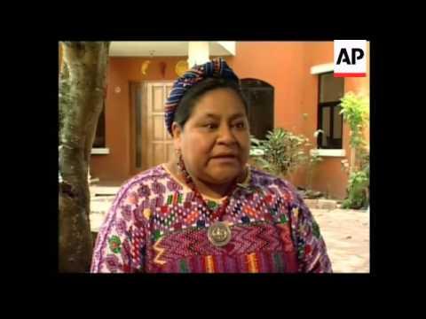 Interview with Guatemalan Nobel Prize Winner Rigoberta Menchu
