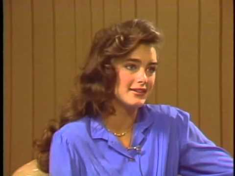 16 Calendar year Outdated Brooke Shields Job interview For Franco Zefirelli's Infinite Adore, 1981.
