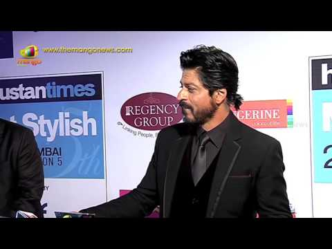 Shahrukh Khan Speaks at HT Mumbai Most Fashionable Awards 2016 | Mango Information