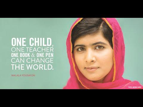 AAP PUNJAB | Formal | Will have to Hear | Nobel prize winner Malala | Speech