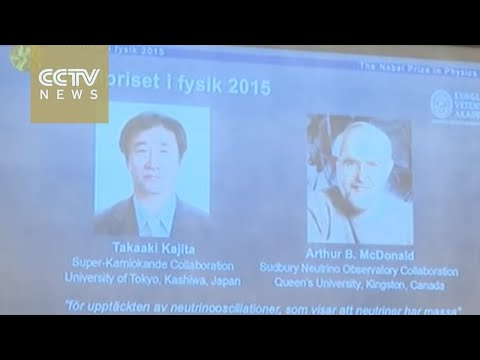 Scientists from Japan, Canada gain Nobel Prize in physics
