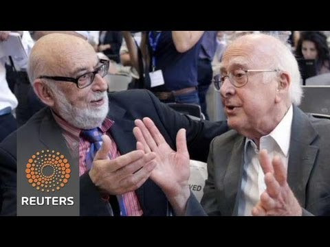 Scientists celebrate Nobel Prize driving Higgs boson