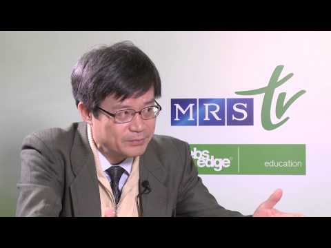 Hiroshi Amano – 2014 Nobel Prize Laureate in Physics and 2014 MRS Fall Assembly Tutorial Teacher