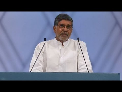 Check out Kailash Satyarthi's Nobel Peace Prize acceptance speech