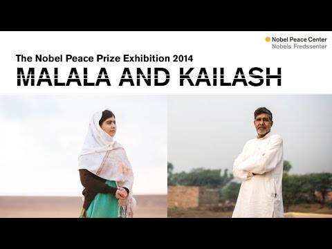 The Nobel Peace Prize Exhibition 2014 – Malala and Kailash