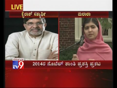 Malala Yousafzai and Kailash Satyarthi Earn Nobel Peace Prize – TV9