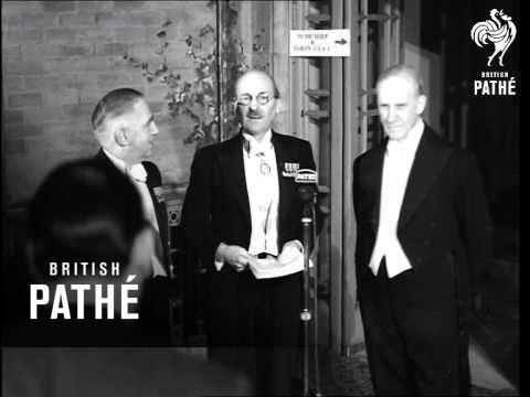 British Experts Gain Nobel Prizes AKA 2 British Experts Get Nobel  (1948)