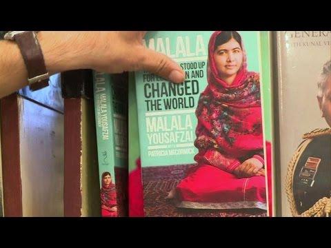 Pakistanis react immediately after Malala wins Nobel Peace Prize