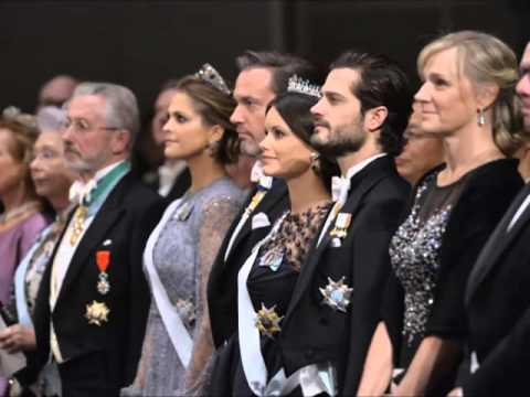 Swedish Royal Family at Nobel Prize.