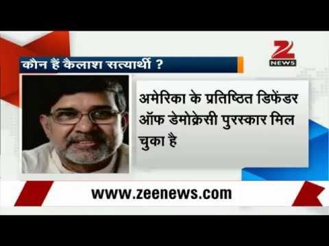 Kailash Satyarthi, Malala Yousafzai jointly awarded 2014 Nobel Peace Prize