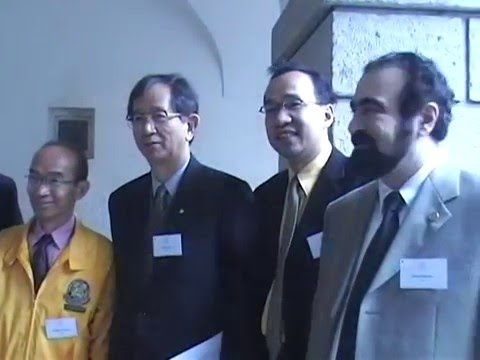 Elchin Khalilov for the duration of a meeting with  Yuan Tseh Lee Nobel Prize Laureate
