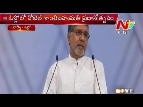 Kailash Satyarthi Speech Immediately after Getting Nobel Prize At Oslo