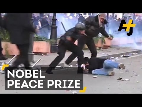 Tunisia's Defenders Of Democracy Gain Nobel Peace Prize