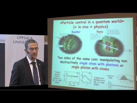 Nobel Laureate in Physics – Professor Serge Haroche – Nobel Lectures at Uppsala University