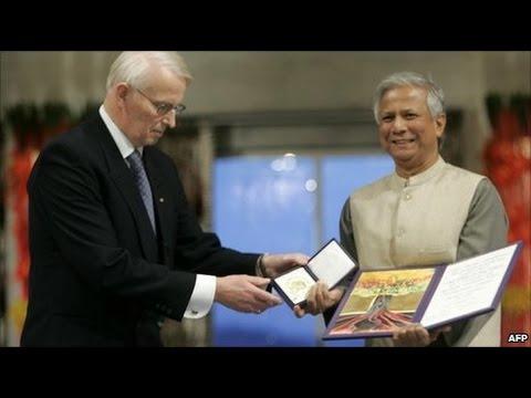 Bangladeshi Awarded Nobel Peace Prize – Bangladeshi Nobel Laureate Muhammad Yunus । Prize Ceremony
