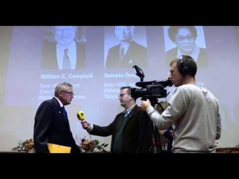 2015 Nobel Prize: William C Campbell, Satoshi Ōmura and Youyou Tu gain 2015 Nobel Prize