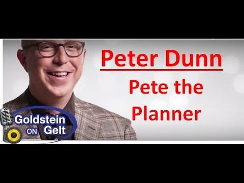 Peter Dunn – Pete the Planner – interview – Goldstein on Gelt