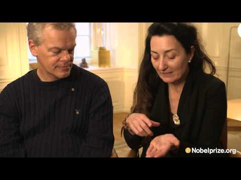 """An inside map in the brain."" May-Britt and Edvard Moser, 2014 Nobel Prize in Physics"