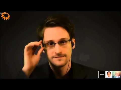 MR-dagarna 2014: Ordfront Democracy Prize Ceremony & Seminar with Edward Snowden and Glenn Greenwald
