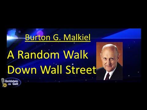 Burton G. Malkiel – A Random Stroll Down Wall Street – job interview – Goldstein on Gelt