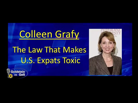 Colleen Graffy – The Law That Makes U.S. Expats Poisonous – job interview – Goldstein on Gelt