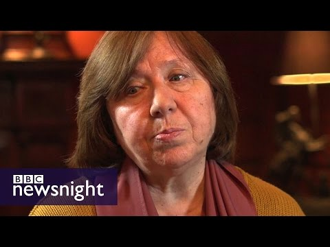 'The Soviet human being remains': Nobel Prize winner Svetlana Alexievich – BBC Newsnight