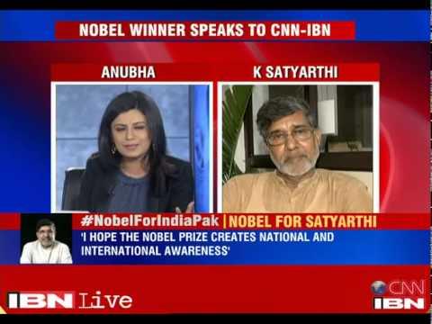 Kailash Satyarthi, Malala Yousafzai share Nobel Peace Prize 2014