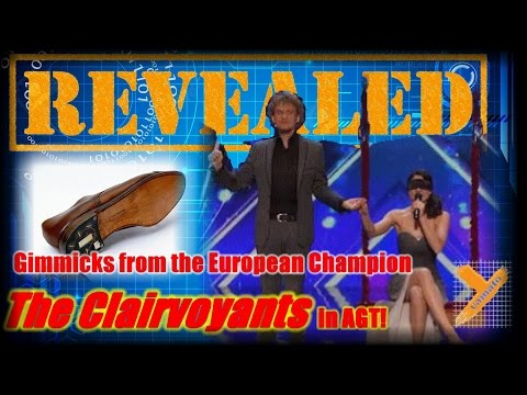 Reveal: The Clairvoyants (Cellphone/Lipstick/Eye Drop Trick) in AGT 2016 Audition (Thommy & Amelie)