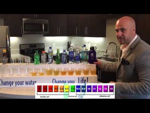 Kangen H2o Demonstration by Wadia Dafesh (12 minutes)