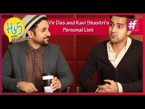 Vir Das & Kavi Shastri's Individual Listing 'Revealed' – Amit Sahni Ki Listing | Hi5 With Hansika