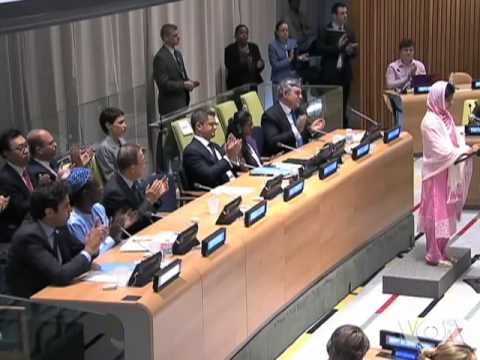 On Her Birthday, Malala Brings Instruction Message to UN