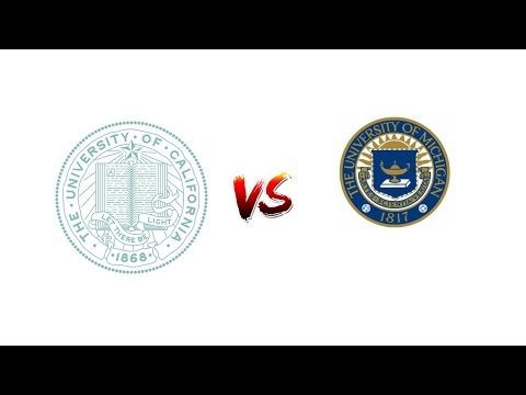Evaluate University OF CALIFORNIA, SAN FRANCISCO vs. University OF MICHIGAN, ANN ARBOR