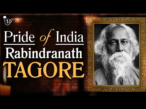 Rabindranath Tagore | Nobel Prize Winner In Literature | Delight Of India